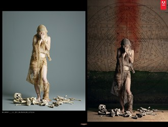 Retoque Digital Photo Manipulation Artwork by Artist Nico Beltramino