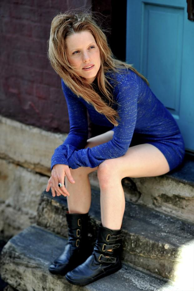 Retro Fashion Photo by Model Joanna