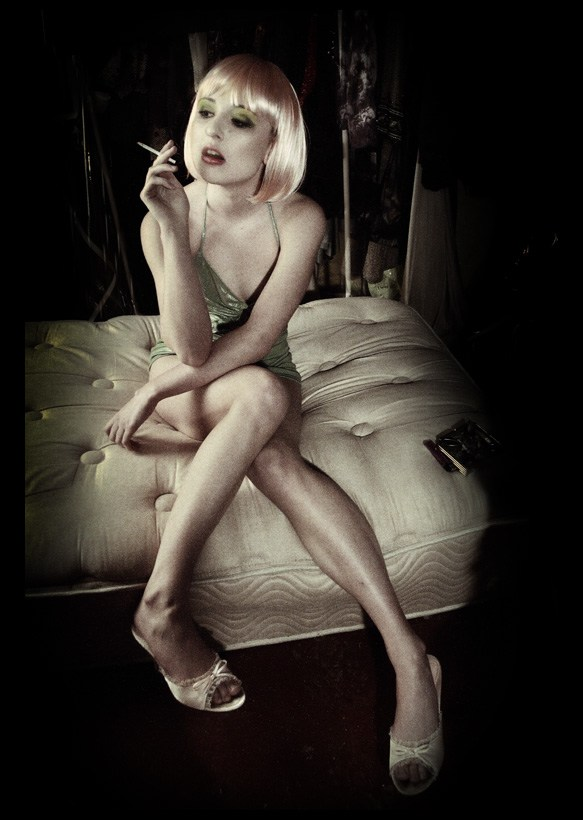 Retro Glamour Photo by Model Miss Anya