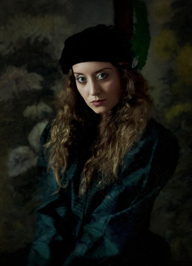 Retro Portrait Photo by Model Ella Rose Muse