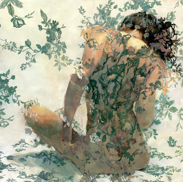 Reve D'Or Artistic Nude Artwork by Artist Main Loop