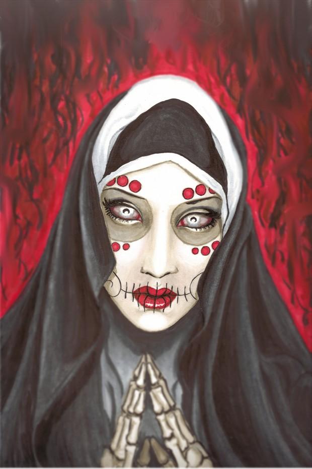 Revelation Fantasy Artwork by Artist Shayne of the Dead