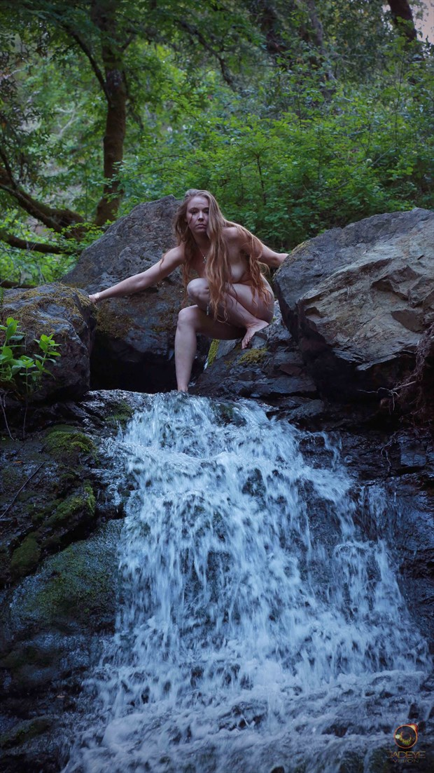 Rewilding Waters Artistic Nude Photo by Model AnudeMuse