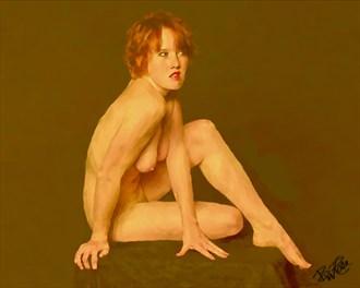 Rhea Artistic Nude Artwork by Artist BWRgrafix
