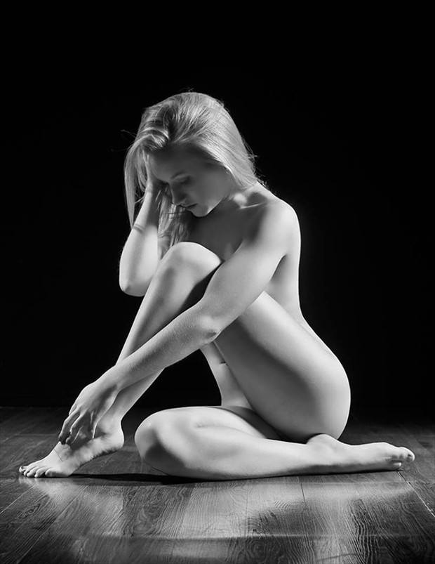 Richards Artistic Nude Artwork by Model Jenna E Joplin