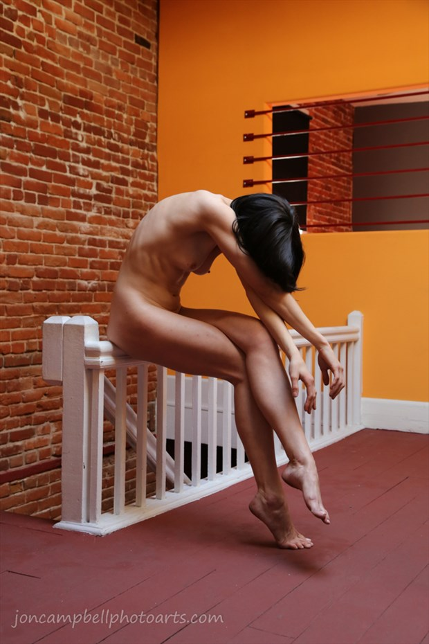 Rigid Artistic Nude Artwork by Model Aristodeme
