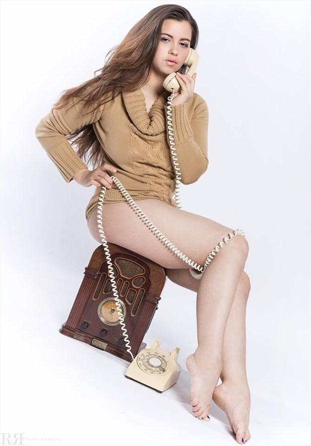 Ring, Ring...Hello%3F Sensual Photo by Model Charlotte Dell'Acqua