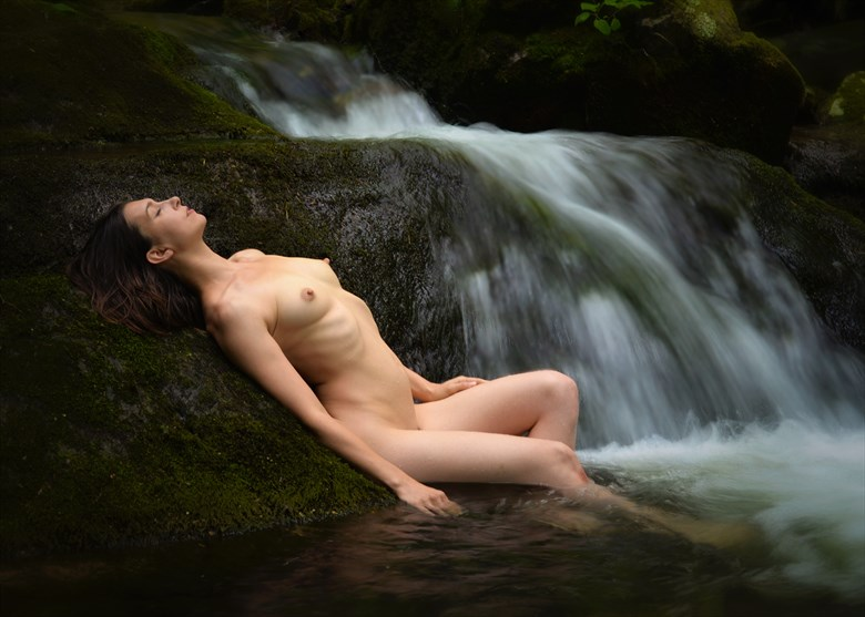 River Cradle Artistic Nude Photo by Photographer Nostromo Images