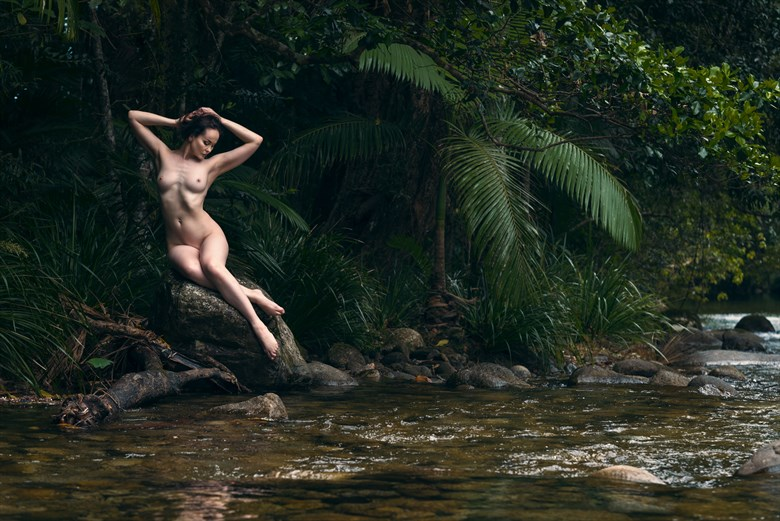 Riveresque 1 Artistic Nude Photo by Photographer Ray Fritz