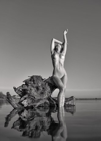 Riverside Artistic Nude Artwork by Photographer Andrey Stanko