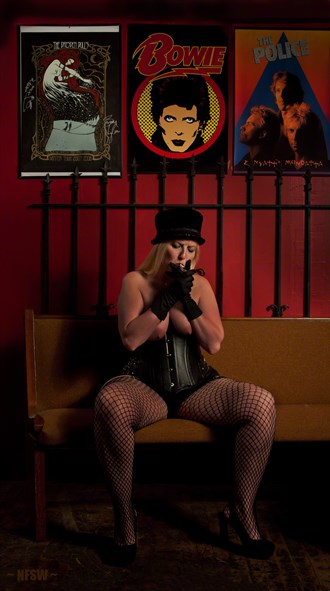 Rock and Roll, Baby Glamour Photo by Model BeatnikDiva