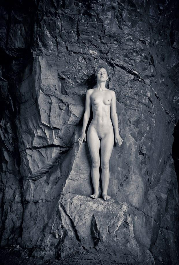 Rock climbing in moon light Artistic Nude Photo by Photographer EAJ photo