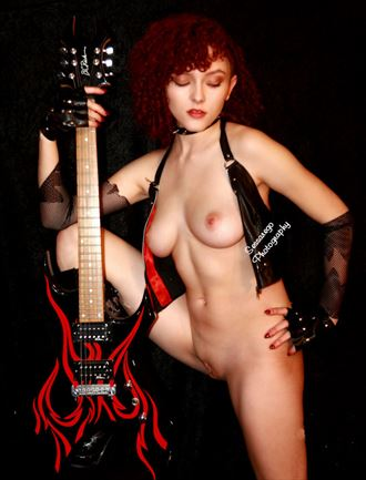 Rock on Artistic Nude Photo by Photographer Alan James