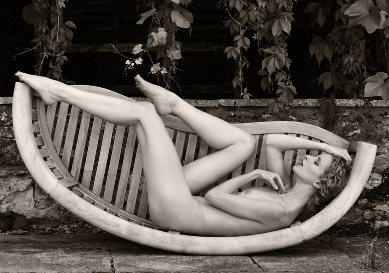Rocking the Cradle Artistic Nude Photo by Photographer Karen Jones