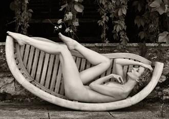 Rocking the Cradle Artistic Nude Photo by Photographer Karen Jones