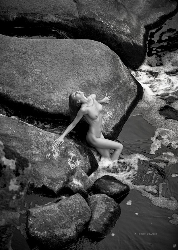 Rocks Artistic Nude Photo by Photographer Andrey Stanko