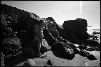 Rocky Shores Artistic Nude Photo by Model AnudeMuse