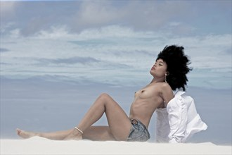 Ronald Sassoon on the dunes Artistic Nude Artwork by Photographer PIXbyGrant