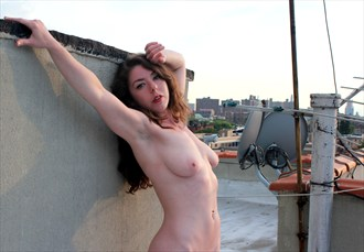 Rooftop Nude Artistic Nude Photo by Photographer Neil Jacobson