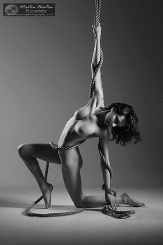Rope Artistic Nude Photo by Model Sophia Blake