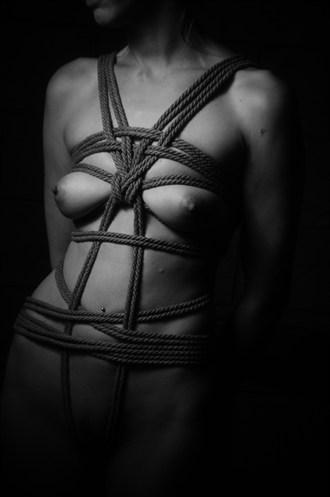 Rope Bondage Erotic Photo by Photographer ASHZ