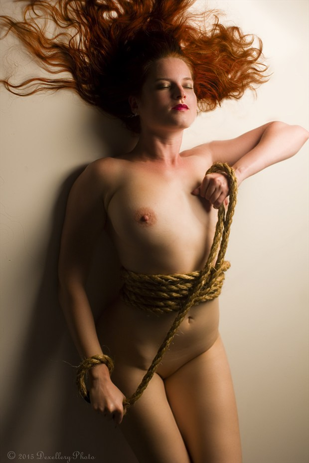 Rope Trick Artistic Nude Photo by Photographer Dexellery Photo