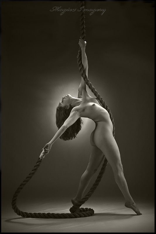 Rope Tricks Artistic Nude Photo by Photographer Magicc Imagery