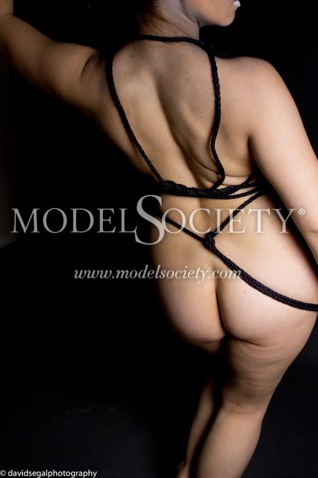 Rope Work Experiment Artistic Nude Photo by Model Charlotte Dell'Acqua