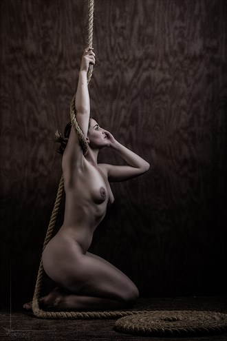 Rope_2 Artistic Nude Photo by Photographer Kestrel