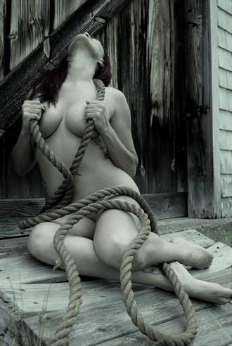 Roped Artistic Nude Photo by Photographer Daniel Tirrell photo