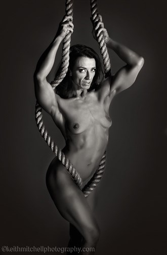 Ropes  Artistic Nude Photo by Model T