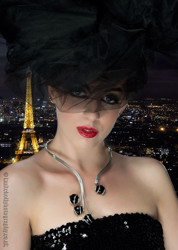 Rosa in Paris Portrait Photo by Photographer Keith Mitchell