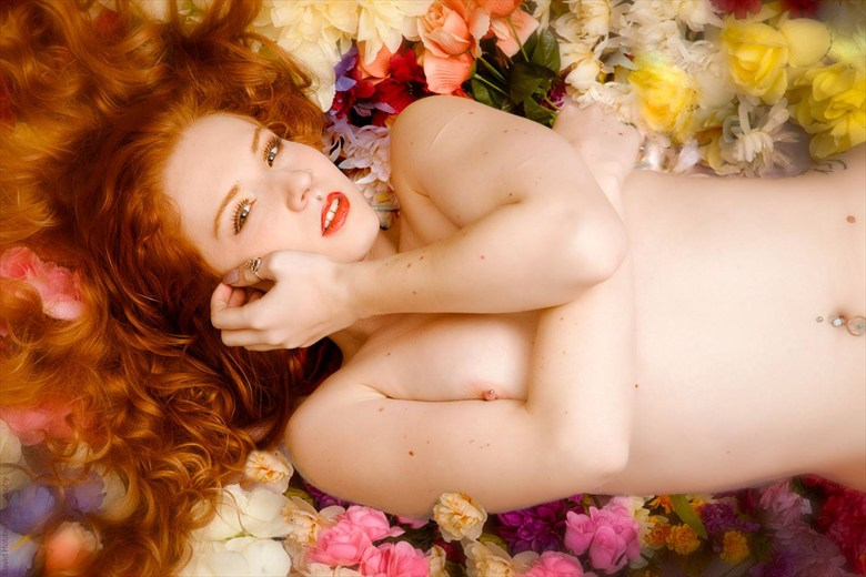 Rose Artistic Nude Photo by Model JenovaxLilith