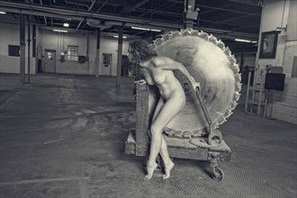 Rosie the Riveter Rebels  Artistic Nude Photo by Photographer ClinePhoto