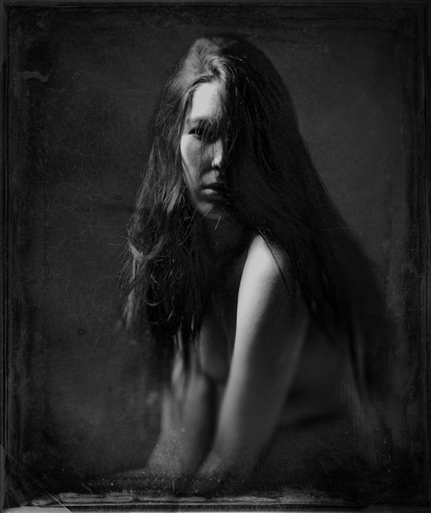 Roxanne Artistic Nude Photo by Photographer George Ekers