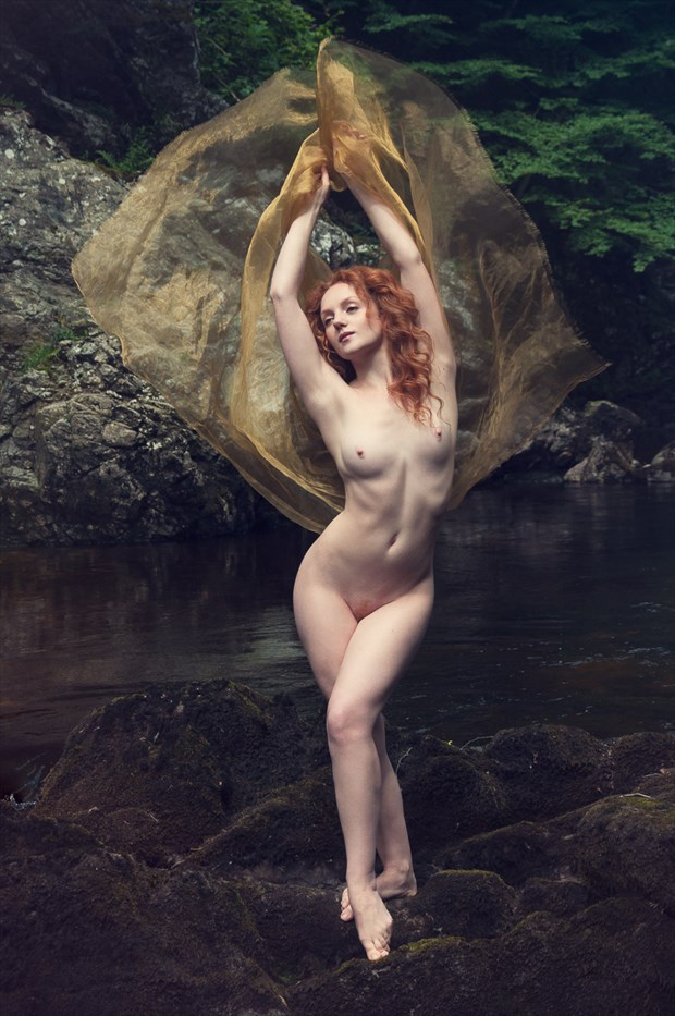 Rusalka Artistic Nude Photo by Photographer Calandra Images