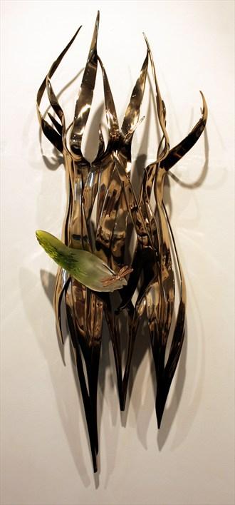 Rush Artistic Nude Artwork by Artist Kim Perrier
