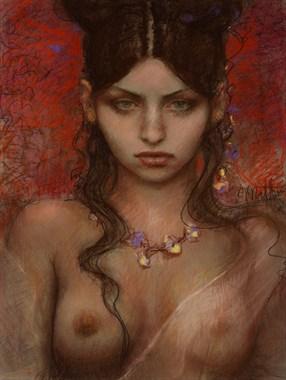 Russian Fashion Erotic Artwork by Artist Matthew Joseph Peak
