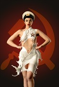 Russian Milk Dress Glamour Artwork by Photographer foko
