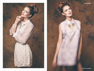 Rusty Ruffle for Institute Magazine Fashion Photo by Photographer adamrobertsonphoto