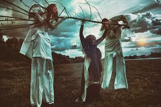 Judgement Surreal Artwork by Photographer Katarzyna Wieczorek