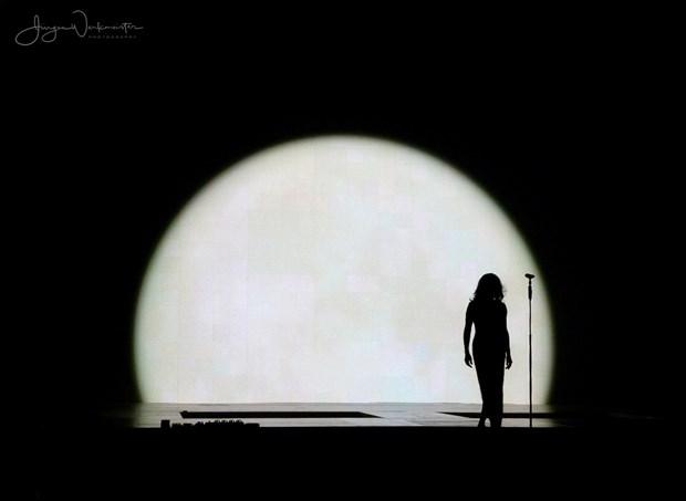 SADE Silhouette Artwork by Photographer Photowerk