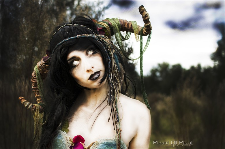 SATYR Surreal Photo by Model MaressaFox