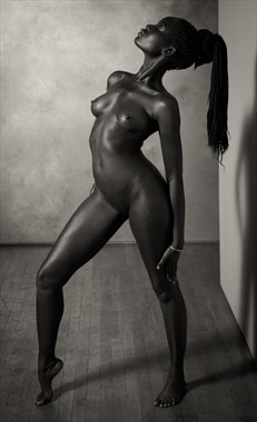 SBK Nude Model Sudan Artistic Nude Photo by Photographer Risen Phoenix