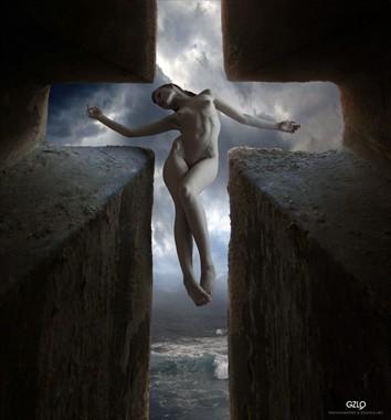ST. CROSS Artistic Nude Photo by Artist GonZaLo Villar