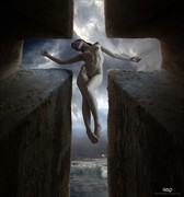 ST. CROSS Artistic Nude Photo by Artist GonZaLo Villar