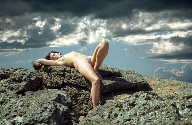 Sacrificial Virgin %23  004 Artistic Nude Photo by Photographer Gene Newell