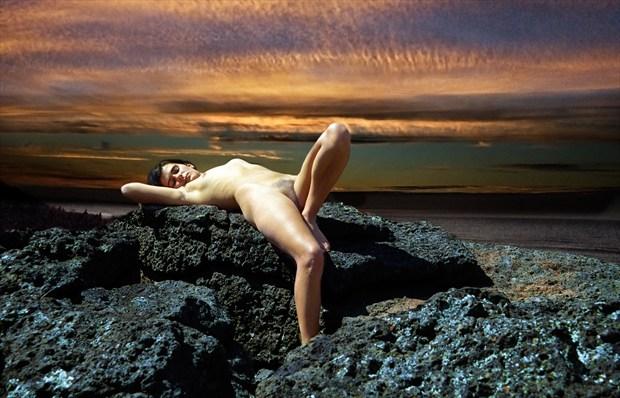 Sacrificial Virgin %23  10 Artistic Nude Photo by Photographer Gene Newell