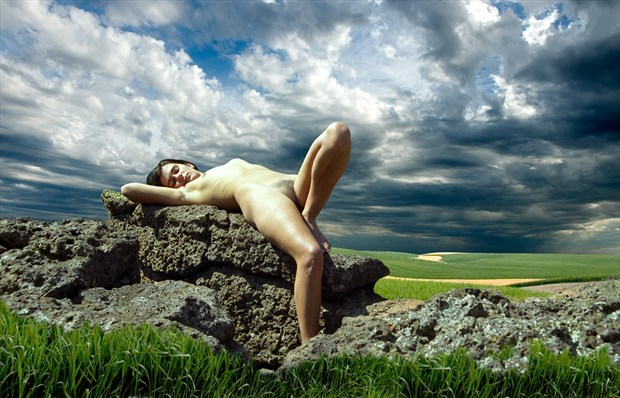 Sacrificial Virgin %23001  Artistic Nude Photo by Photographer Gene Newell