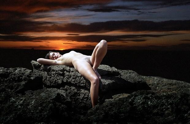 Sacrificial Virgin %23002 Artistic Nude Photo by Photographer Gene Newell
